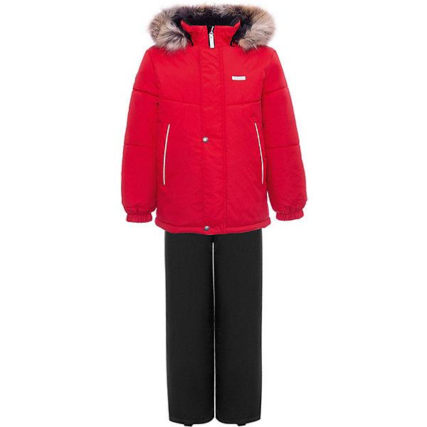 Купить Комплект Kerry Robby: куртка и полукомбинезон, Финляндия, красный, 110, 116, 122, 104, 134, 128, 92, 98, Мужской