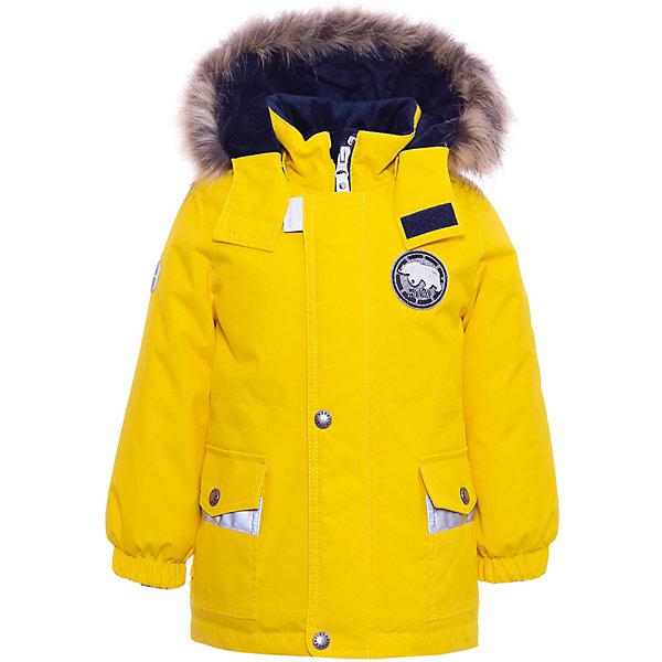 Купить Утепленная куртка Kerry Walter, Финляндия, желтый, 86, 92, 98, 80, Мужской
