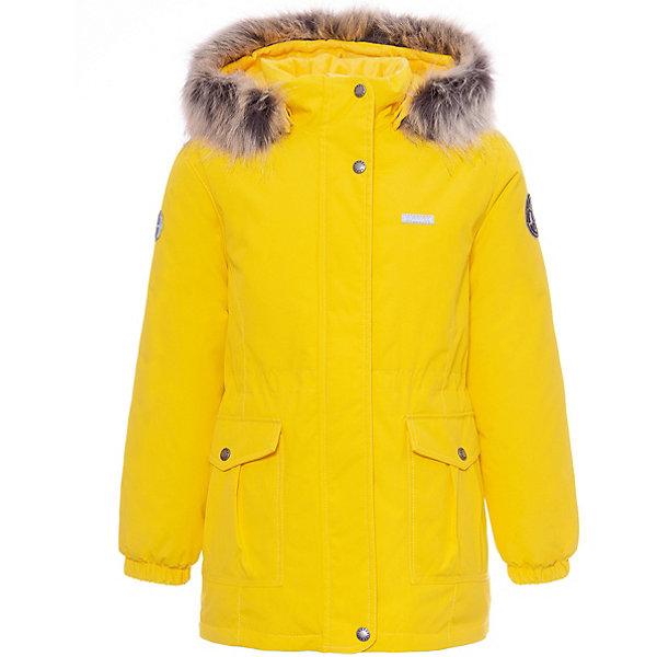 Купить Утепленная куртка Kerry Maya, Финляндия, желтый, 110, 98, 134, 116, 92, 128, 122, 104, Женский