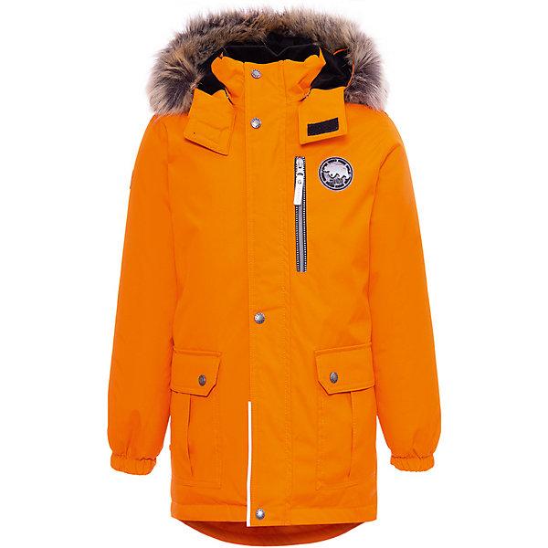 Купить Утепленная куртка Kerry Snow, Финляндия, оранжевый, 104, 134, 122, 110, 92, 128, 116, 98, Мужской