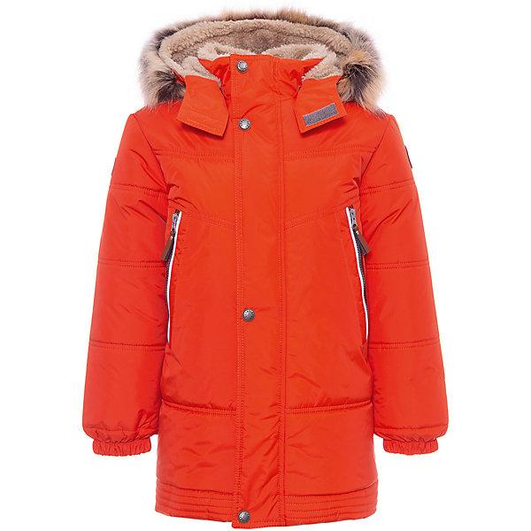 Купить Утепленная куртка Kerry Tom, Финляндия, оранжевый, 122, 128, 110, 104, 92, 116, 98, 134, Мужской