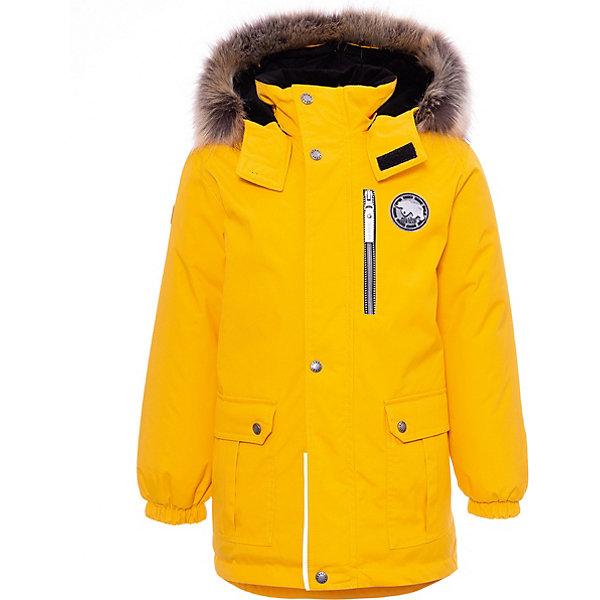 Купить Утепленная куртка Kerry Snow, Финляндия, желтый, 128, 104, 98, 110, 134, 122, 92, 116, Мужской