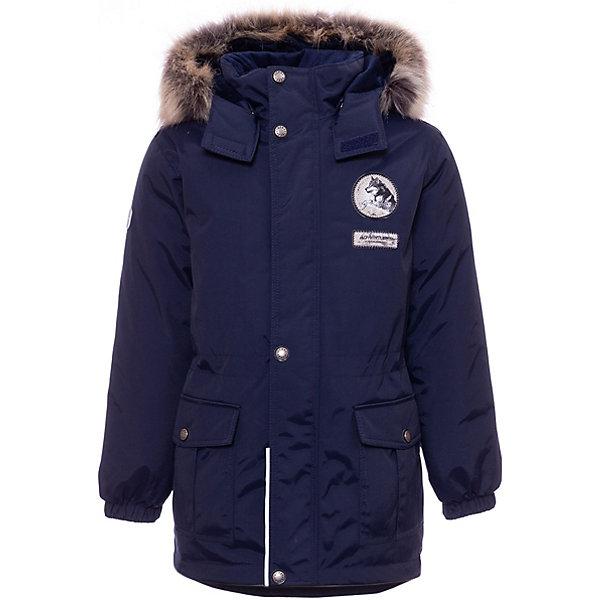 Купить Утепленная куртка Kerry Wolf, Финляндия, темно-синий, 128, 104, 116, 92, 134, 110, 122, 98, Мужской