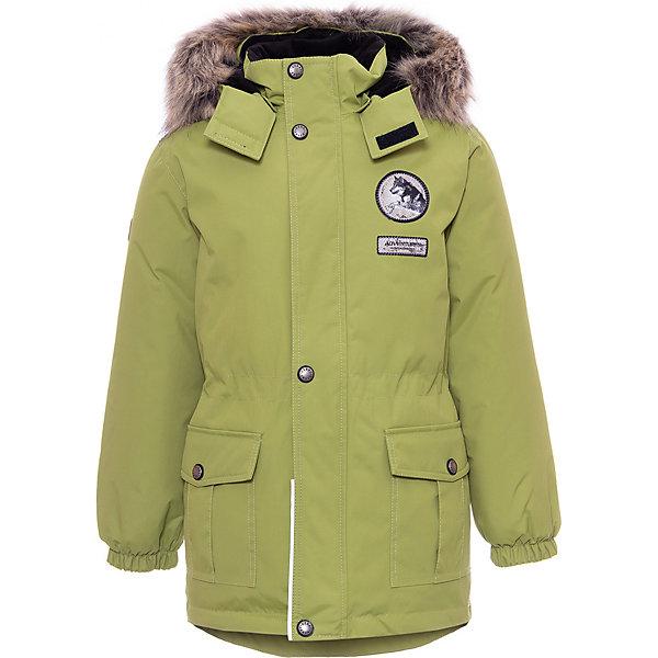 Купить Утепленная куртка Kerry Wolf, Финляндия, зеленый, 116, 92, 134, 122, 98, 104, 110, 128, Мужской