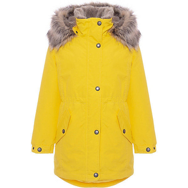 Купить Утепленная куртка Kerry Estella, Финляндия, желтый, 140, 134, 170, 152, 128, 158, 164, 146, Женский