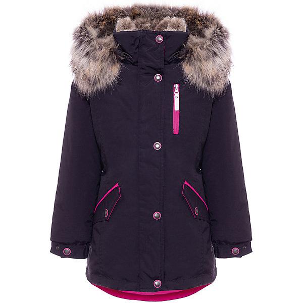Купить Утепленная куртка Kerry Angel, Финляндия, черный, 170, 128, 158, 146, 140, 152, 134, 164, Женский