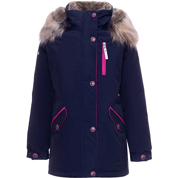Купить Утепленная куртка Kerry Angel, Финляндия, темно-синий, 128, 164, 134, 146, 152, 158, 140, 170, Женский