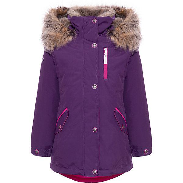 Купить Утепленная куртка Kerry Angel, Финляндия, лиловый, 146, 140, 164, 170, 158, 152, 134, 128, Женский