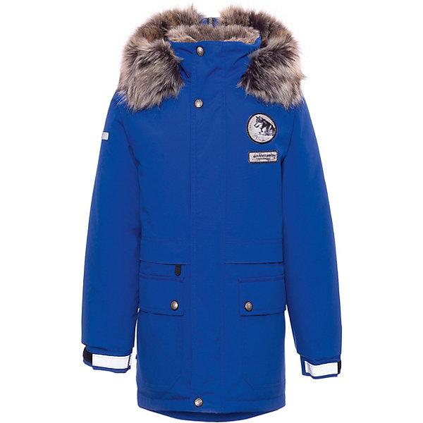 Купить Утепленная куртка Kerry Nash, Финляндия, синий, 140, 158, 134, 164, 152, 128, 170, 146, Мужской