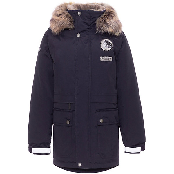 Купить Утепленная куртка Kerry Nash, Финляндия, серый, 140, 134, 164, 158, 152, 170, 146, 128, Мужской