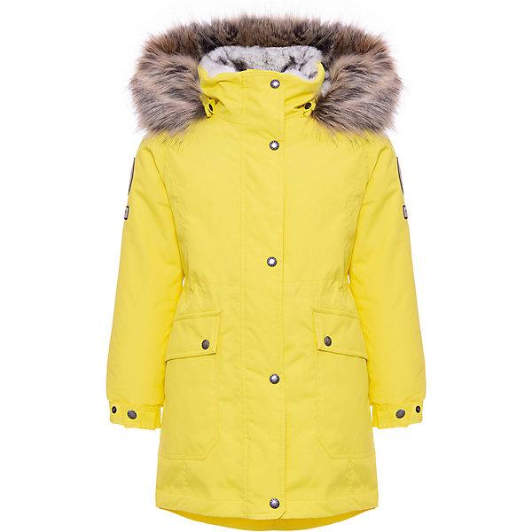 Купить Утепленная куртка Kerry Melody, Финляндия, желтый, 170, 164, 158, 140, 146, 134, 128, 152, Женский
