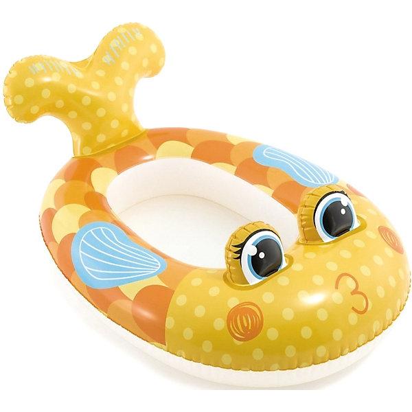 Intex Надувная лодка Pool Cruisers, золотая рыбка