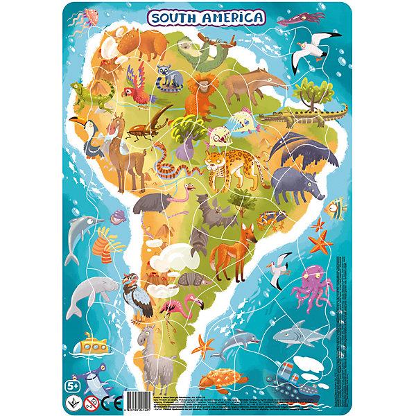 Dodo Пазл Dodo Южная Америка, 53 элемента пазл 2 3 4 элемента dodo домашние животные