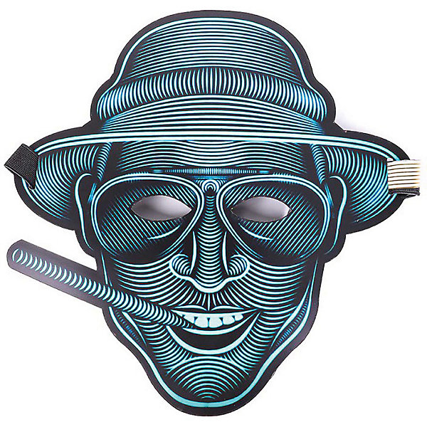 GeekMask Cветовая маска Vegas, со звуком