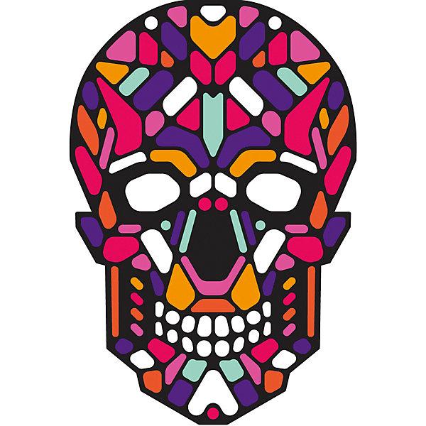 GeekMask Cветовая маска GeekMask Sugar Skull, со звуком маска для сна женская kawaii factory sugar skull цвет черный kw086 000900