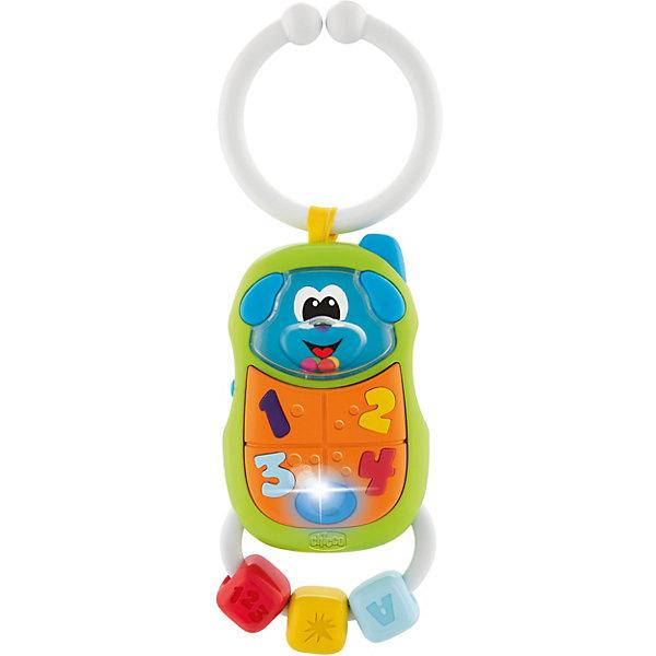 CHICCO Игрушка-погремушка Chicco Телефончик (свет, звук) игрушка погремушка chicco волшебное зеркальце белоснежки свет звук
