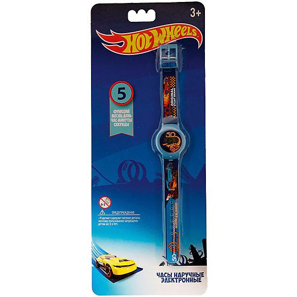 Купить Электронные наручные часы Kids Time Hot Wheels, Детское время, Китай, atlantikblau, Мужской