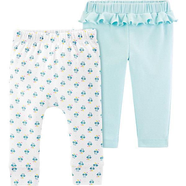 carter`s Брюки carter`s, 2 шт. брюки джинсы и штанишки artie штанишки для девочки жирафы