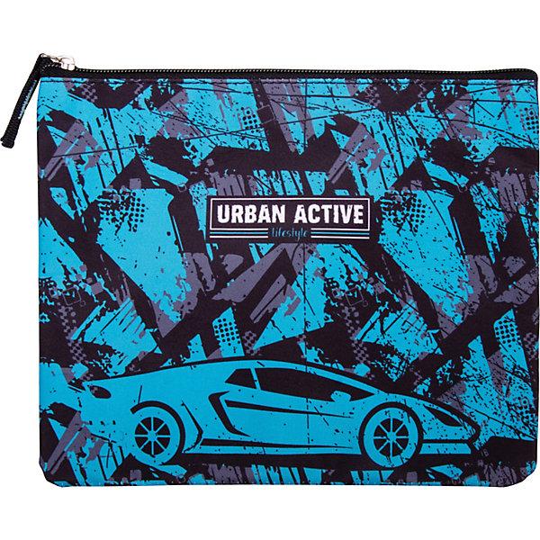 Berlingo Папка на молнии Urban active, А5