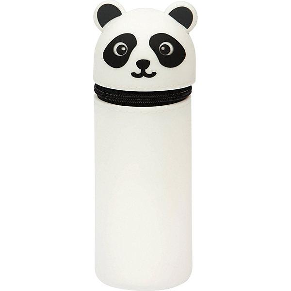 Berlingo Пенал мягкий Berlingo Panda, белый пенал berlingo paris pm04912