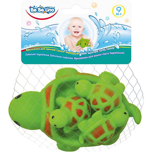 Toys Lab Набор игрушек для ванной ToysLab Bebelino Семья черепашек