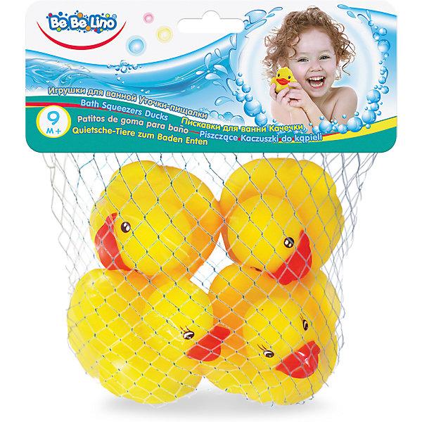 Toys Lab Игрушки для ванной ToysLab Bebelino Уточки-пищалки