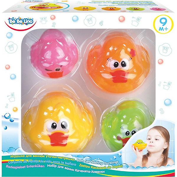 Toys Lab Набор игрушек для ванной ToysLab Bebelino Уточки-матрешки