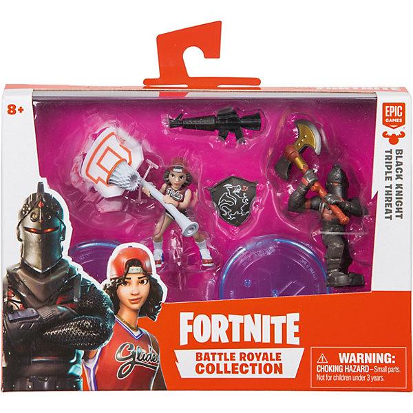 Купить Игровой набор Moose Fortnite Черный рыцарь и Баскетбольная душа, 2 фигурки с аксессуарами, Китай, разноцветный, Мужской