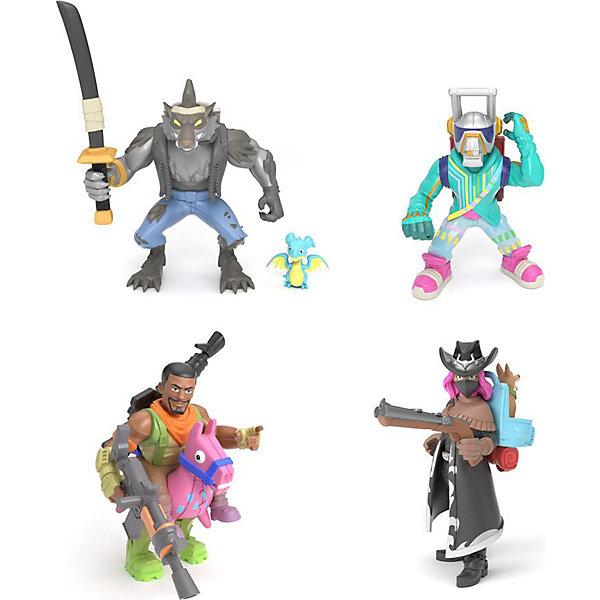 Moose Игровой набор Fortnite, 4 фигурки: Оборотень, Темный рейнджер, Эм Си Лама, Наездник