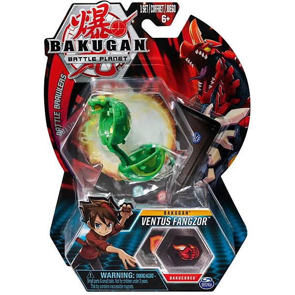 Spin Master Фигурка-трансформер Spin Master Bakugan, Ventus Fangzor spin master фигурка трансформер spin master bakugan ventus fangzor