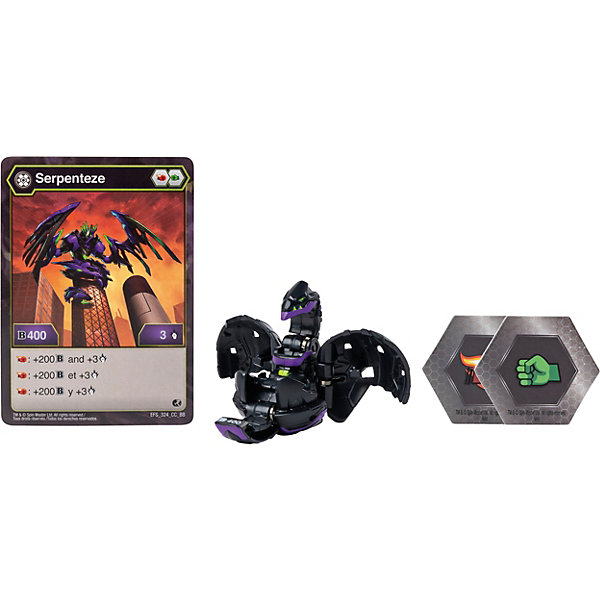 Spin Master Фигурка-трансформер Bakugan, Darkus Serpenteze