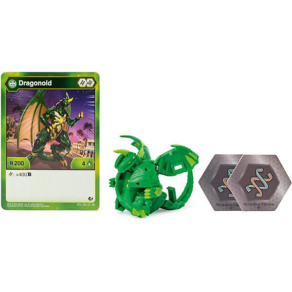 Spin Master Фигурка-трансформер Bakugan, Ventus Dragonoid