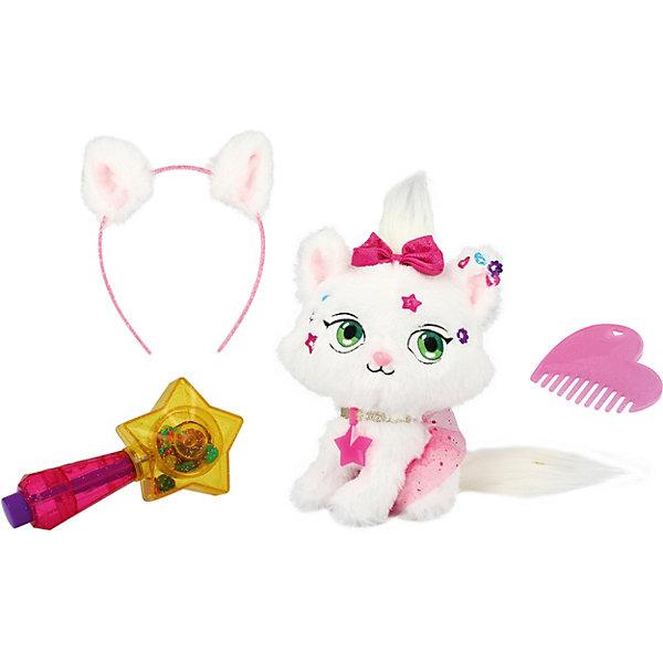 Купить Мягкая игрушка Shimmer Stars Котенок, 20 см, Китай, Женский