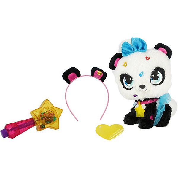 Shimmer Stars Мягкая игрушка Панда с сумочкой, 20 см