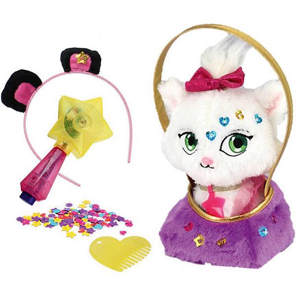 Купить Мягкая игрушка Shimmer Stars Котенок с сумочкой, 20 см, Китай, Женский