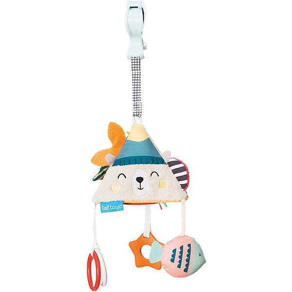 TAF TOYS Развивающая игрушка-подвеска Taf Toys Пирамидка на клипсе
