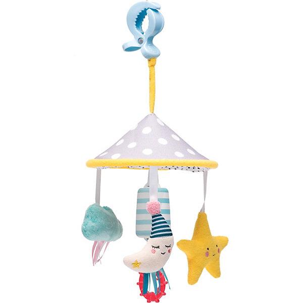 TAF TOYS Развивающая игрушка-подвеска Taf Toys Луна на клипсе