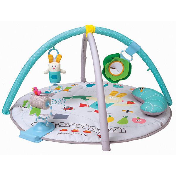 TAF TOYS Развивающий коврик Taf Toys с подушкой развивающий коврик lorelli toys развивающий коврик lorelli toys с интерактивным столиком 105 х 65 см 1030038