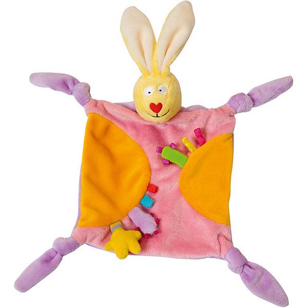 Развивающая игрушка Taf Toys Платочек-прорезыватель Кролик 12181663