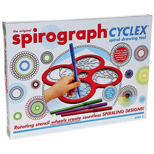 Спирограф Набор для рисования Spirograph Cyclex Спирограф набор для рисования play doh необычное яйцо cpdo062