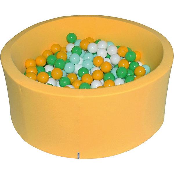 """Купить Сухой бассейн Hotenok """"Солнечная поляна"""" 40 см, 200 шариков, Россия, разноцветный, Унисекс"""