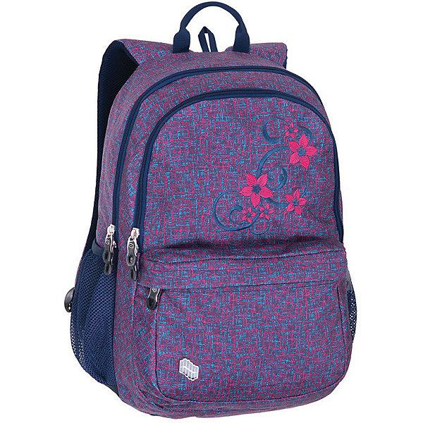 Купить Рюкзак Pulse Spin Pink Flower, сиреневый, Китай, фиолетовый, Женский