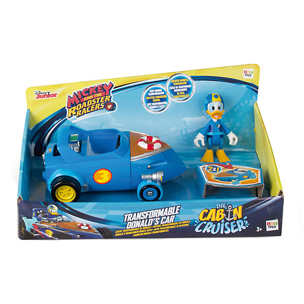 IMC Toys Игровой набор IMC Toys Микки и весёлые гонки