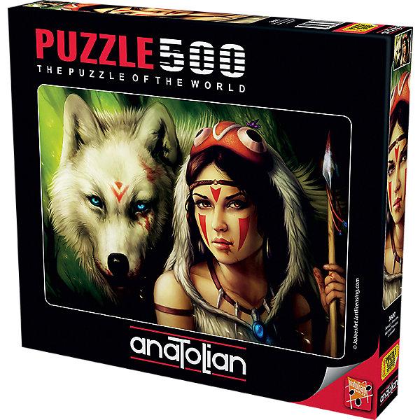 Anatolian Пазл Принцесса и волк, 500 элементов