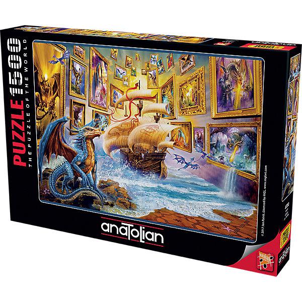 Купить Пазл Anatolian Ночь в музее, 1500 элементов, Турция, Унисекс