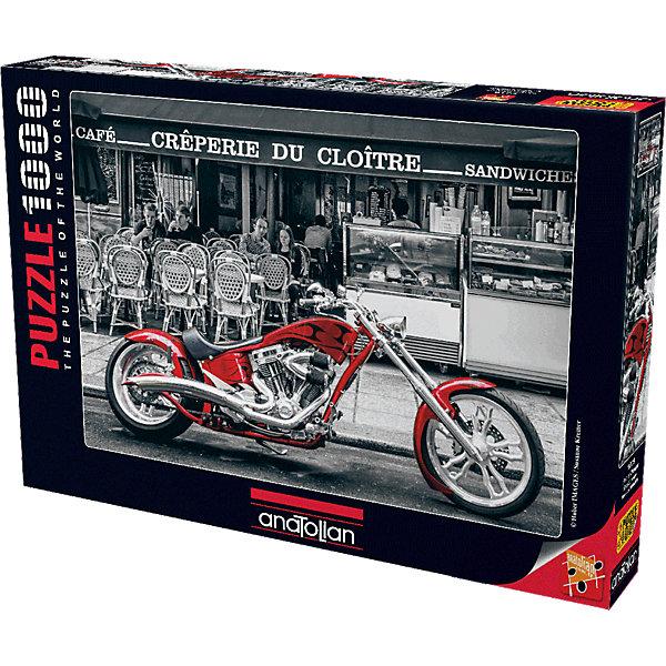 Anatolian Пазл Красный мотоцикл, 1000 элементов