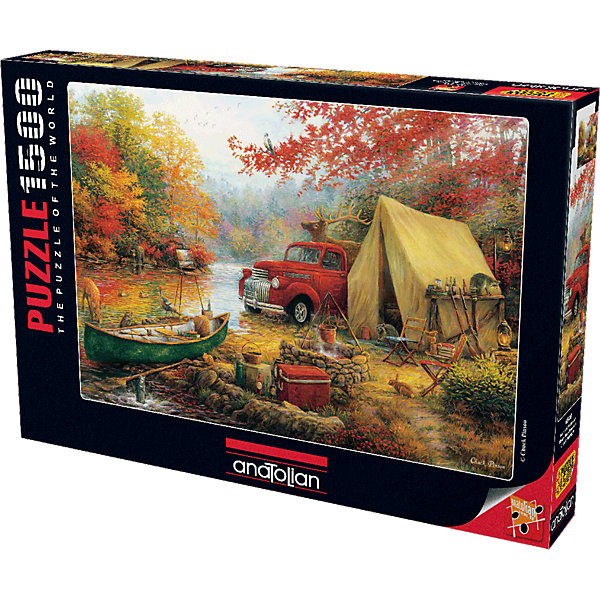Купить Пазл Anatolian Осенняя охота, 1500 элементов, Турция, Унисекс