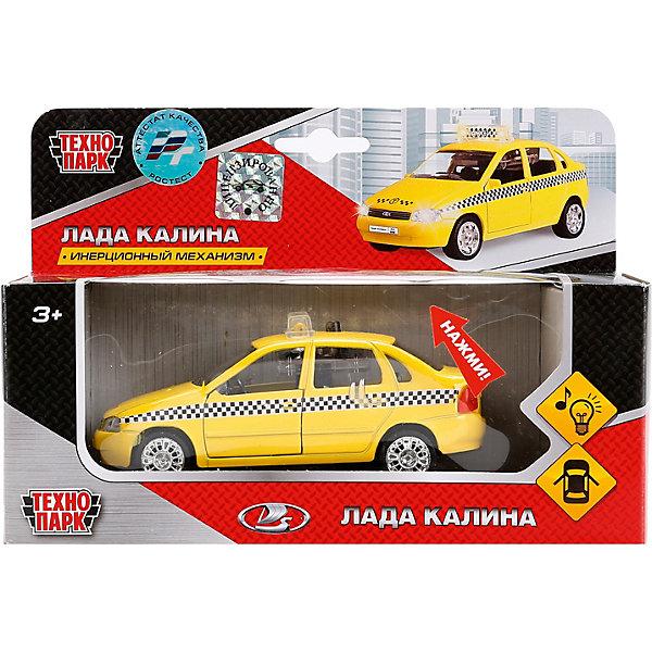 Купить Машинка Технопарк Лада Калина такси , инерционная, свет и звук, ТЕХНОПАРК, Китай, Мужской