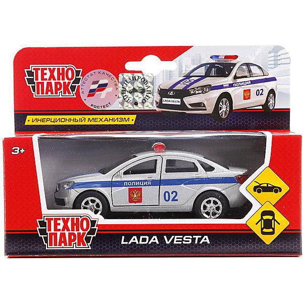 Купить Машинка Технопарк Лада Веста полиция , инерционная, 12 см, ТЕХНОПАРК, Китай, Мужской