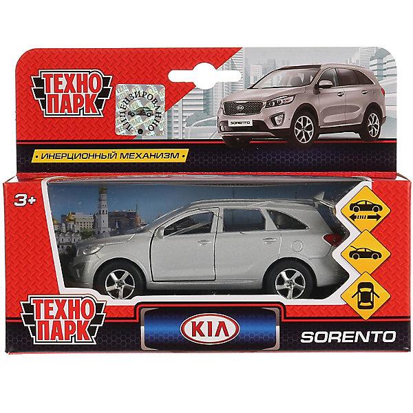 Купить Машинка Технопарк KIA Sorento Prime, инерционная, 12 см, серебристая, ТЕХНОПАРК, Китай, Мужской